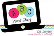Word Study / 1st grade activities for word study practice.