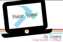 Maker Space! / Ideas and resources for making and maker spaces in school.