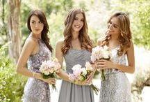 Sequin Weddings / sequin bridesmaid dresses, sequin wedding inspiration
