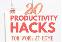 Work-at-Home Moms Playbook / If you're a stay-at-home mom like me, you can use all the help you can get! Get all the tips, tricks, know-how right here to learn how to effectively run a home AND a successful business without losing productivity or your sanity! Get tips and read tutorials on making money and running a blog from home.