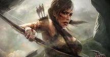 Woman Warrior Art