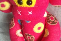 Cute and cuddly Handmade monkeys / A collection of our little friends
