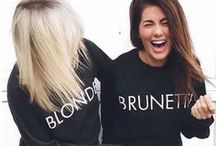 The Customer Babes / A collection of our babes wearing Brunette The Label #BRUNETTEWORLD