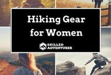 Hiking Gear for Women / Best hiking gear for women. Click follow for more.