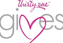 Thirty- One / I love and sell thirty-one. Thirty-one is a christian faith company. Thirty-one helps you organize your home, office, car, purse, camping/boat trips, and so much more. Thanks for checking out my pins.  / by Patricia Jones