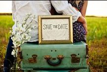 Wedding Invitations and Save the Dates / Mark your calendars and let the countdown begin.