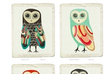 owls / by Halelly Azulay