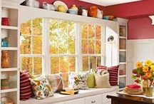 Home Inspirations / Things I find beautiful and interesting for the home..Beautiful rooms, accessories, furniture pieces, interesting items, or unique designs.  / by Angela Thompson