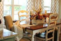 Dining Rooms / A beautiful selection of dining rooms. / by Angela Thompson