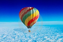 ❤ Hot Air Balloons❤  / by Puddin Pie