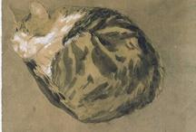 modern realism:  Gwen John / by Cat Museum