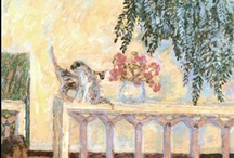 "Bonnard ^^ Museum of Cat Art / ""Art is not nature"" he used to say, to the extent that his White Cat has become almost a caricature, ""a comical and humorous image created through the genius of its master who observed and understood it so well"" ~Elisabeth Foucart-Walter.  / by Cat Museum"