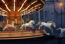 Carousel horses / by Betty L Frame