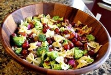 Soup or Salad? Let's have both! / Awesome salads and soups to have before the main dish or even as a main dish!