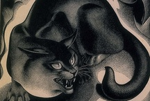 ETCHINGS and ENGRAVINGS  ^^  Museum of Cat Art / by Cat Museum