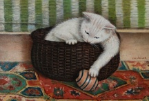 Sal Meijer ^^ Museum of Cat Art / by Cat Museum