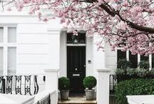 Curb Appeal / Beautiful houses and home architecture from the outside looking in.