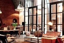 Lovely Lofts / City lofts, country lofts, rustic lofts...big and small. / by Angela Thompson