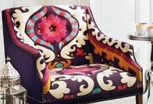Chairs / Comfy, stylish chairs….I'm in love with big comfy chairs!