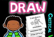 Draw Conclusions & Inferences K-2 / critical vocabulary... Tier 2 vocabulary... academic vocabulary
