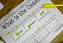 1st grade Word Work