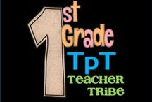 1st Grade TpT Tribe / First grade resources in math, reading and more for 1st grade teachers that make teaching engaging and fun! Posting 2 free for every 1 paid.