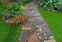 Paths, alleys, sidewalks / Ścieżki, alejki, chodniki
