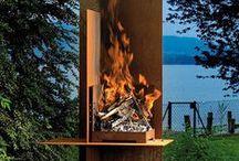 Paleniska/Grille -> INSPIRACJE OGRODOWE / Fireplace, grill
