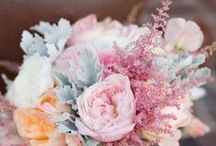 Pale Pink Bridal Bouquets / Blush like a sunset #bermudabride #bermuda #love #flowers #wedding #bouquets #pink