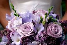 Amethyst Bridal Bouquets / The cooler side of the color spectrum in all its shades of purple. #bermudabride #bermuda #love #petalsbermuda #flowers #wedding #bouquets #purple #violet #lilac