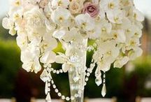 Pillar Arrangements / From weddings to churches to special events, we have the pillor arrangements of your dreams. #bermudabride #bermuda #love #petalsbermuda #flowers #wedding #arrangements