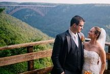 WV Weddings / The captured essence of weddings in the Mountain State.  A beautiful depiction of real West Virginia weddings, brides and spaces galore.