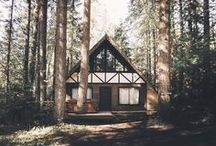 Cabin Fever / Places I dream of running away to.