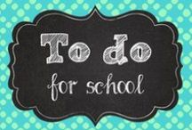 To Do for School
