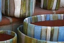 bowls and tiles / by Carolyn WS
