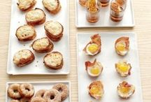 breakfast party food / by Katie Lawver