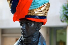 #Hatwalk / For four days, the city is a catwalk of hats for Hatwalk, an event which celebrates London's creativity and heritage.  Some of the UK's and indeed the world's top milliners including Stephen Jones and Philip Treacy have created custom-made hats for the likes of King George IV and General Sir Henry Havelock.  There are 20 statues in all, within easy (hat) walking distance of each other: www.molpresents.com/hatwalk / by Mayor of London Presents
