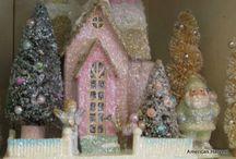 Lovely Little Glitter Houses / by Sonya Booton