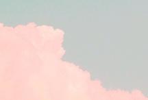 clouds / rain