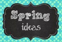 Spring teaching ideas