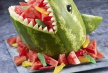 Party Food Ideas ~ / All sorts of funky, creative ideas for snacks, sweets & food.