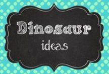 Dinosaurs/Fossils / Science ideas