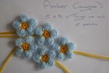 crochet flowers / by Gale Mathis