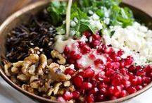 Recipes: Salads and Veggie Dishes