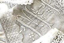Linens, Lace, & Embroidery / by Sonya Booton