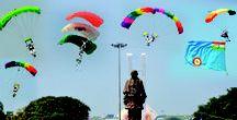 air show / Thriller air show organized by the Indian Air Force At Gandhinagar