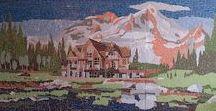 Мозаика / Творение мозаичных панно