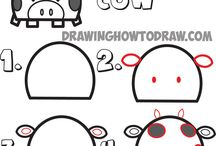 Draw with letters / Draw with letters