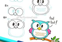 Draw step by step animals / Diy, how to Draw animals?      Step by step