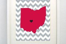 Ohio: Ohio State & More / Always a Buckeye / by Kelly Yale